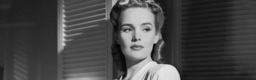 Frances Farmer in einer Filmrolle