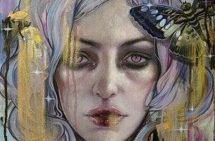 Leben mit der Depression - Bild einer Frau