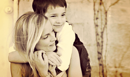 Mein Sohn ist auch verständnisvoll, liebevoll und mitfühlend