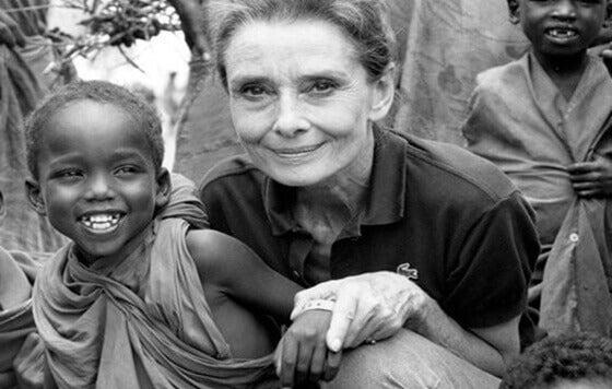 Humanitäre Arbeit von Audrey Hepburn