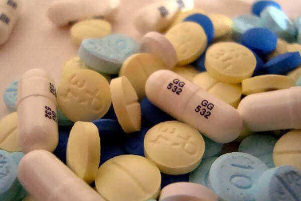 Benzodiazepine in Tabletten und Kapseln