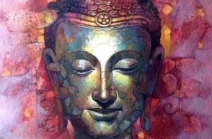 Phrasen des Buddhismus - Antlitz Buddhas
