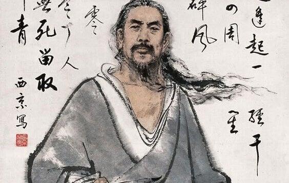Weiser japanischer Mann