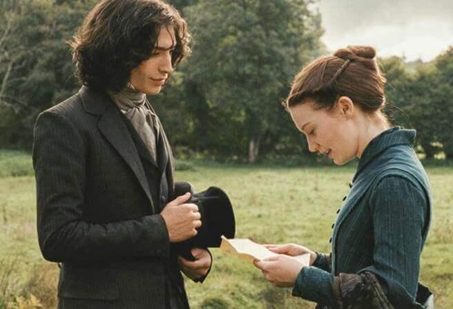 Madame Bovary mit ihrem Liebhaber
