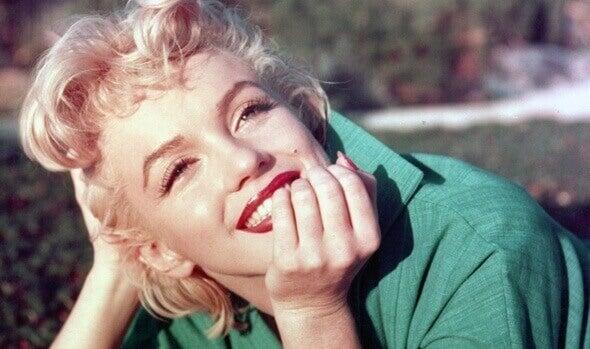 Lächelnde Marilyn Monroe