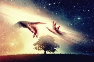 Mehr positive Energie - Die Erschaffung Adams im Himmel