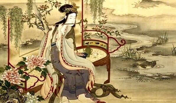 Chinesische Sprichwörter als Teil chinesischer Kunst