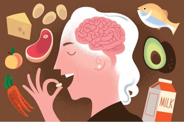 Vitamin-B12-haltige Lebensmittel