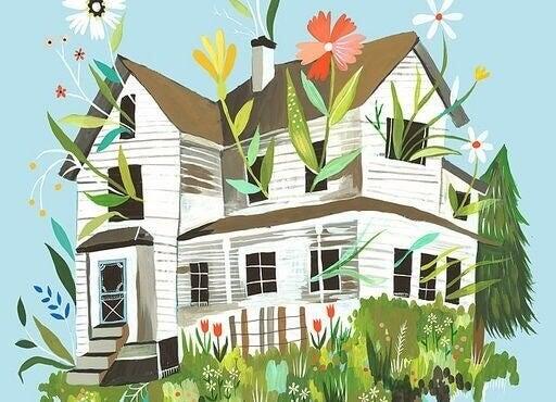 Blühendes Zuhause