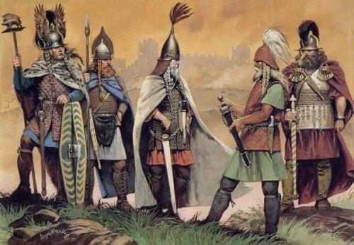 Keltische Krieger