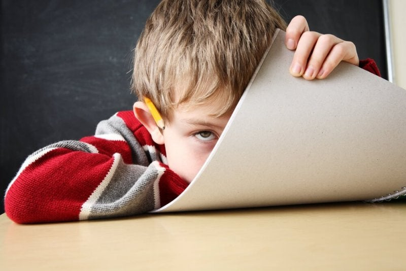 Kind mit Aufmerksamkeitsdefizit