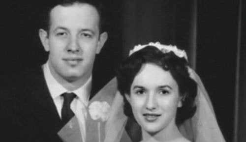 John Nash mit Ehefrau