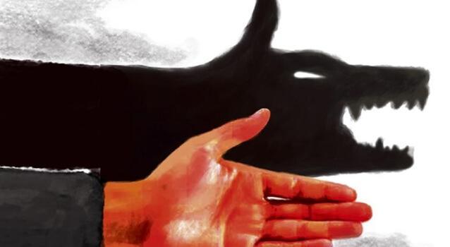 Schattenspiel mit der Hand