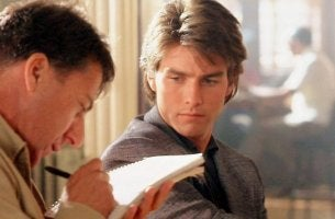 "Filme über Autismus - Szene aus dem Film ""Rain Man"""