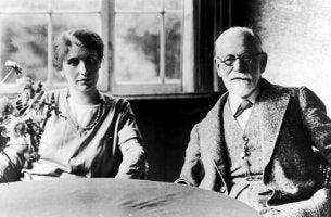 Anna und Siegmund Freud