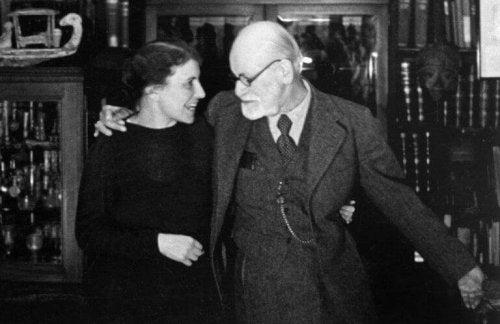 Siegmund und Anna Freud