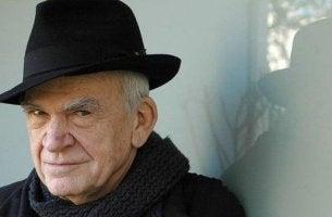 Zitate von Milan Kundera - Portrait von MIlan Kundera