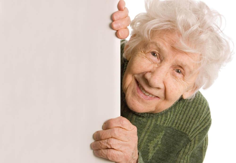Trotz gelgentlicher Launen sollten wir alten Menschen mit Gedult und Respekt begegnen.