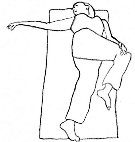 Übung zur Rückenstreckung