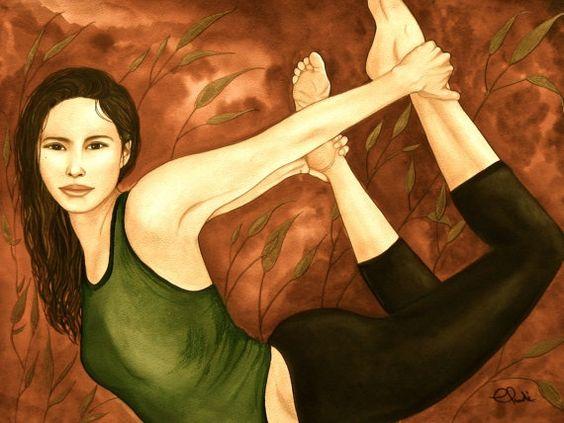Dehnübungen wie diese helfen auch dem Seelenmuskel