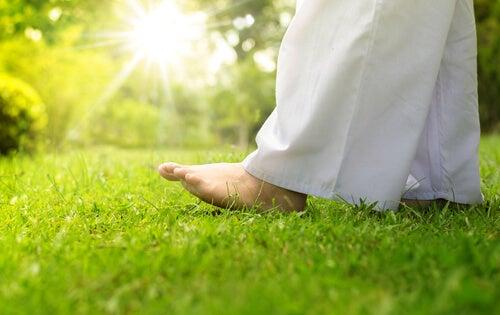Meditation im Gehen