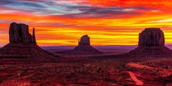 Landschaft von Arizona