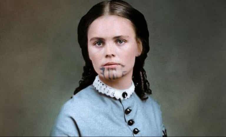 Olive Oatman, die Frau mit der blauen Tätowierung und der doppelten Gefangenschaft