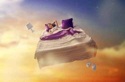 Bett im Himmel