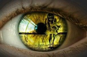 Formen der Gewalt - Auge, welches Gewalt sieht
