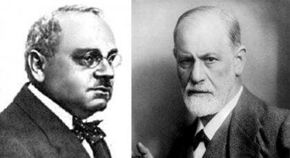 Adler und Freud