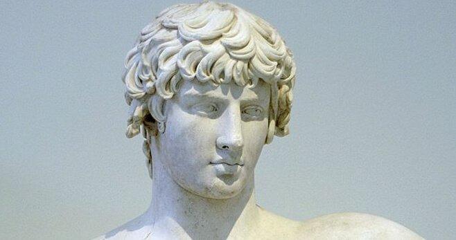 Demosthenes als Statue.