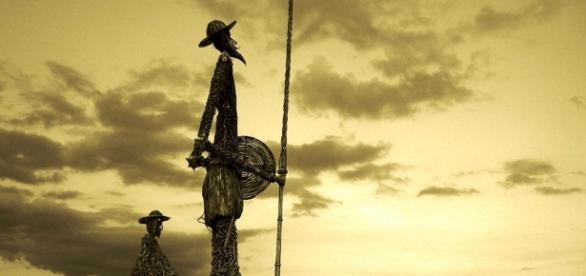 Stilisiertes Bild von Don Quijote