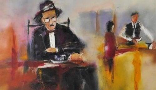 Malerei von Fernando Pessoa