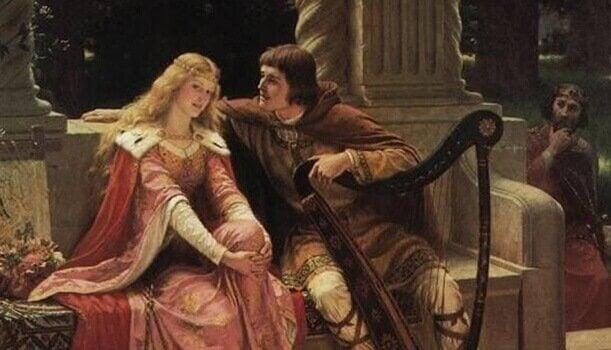 Karl der Große und seine Ehefrau