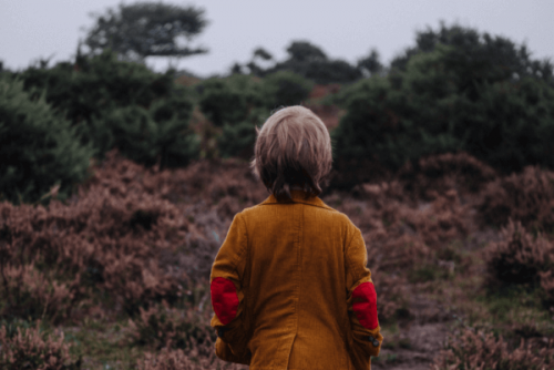 Kind auf sich allein gestellt