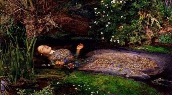 Ophelia im Wasser