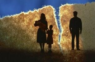 Meinem Kind durch die Scheidung helfen - zerbrochene Familie