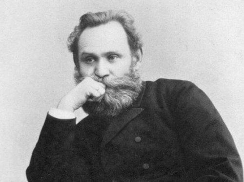 Portrait von Pavlov