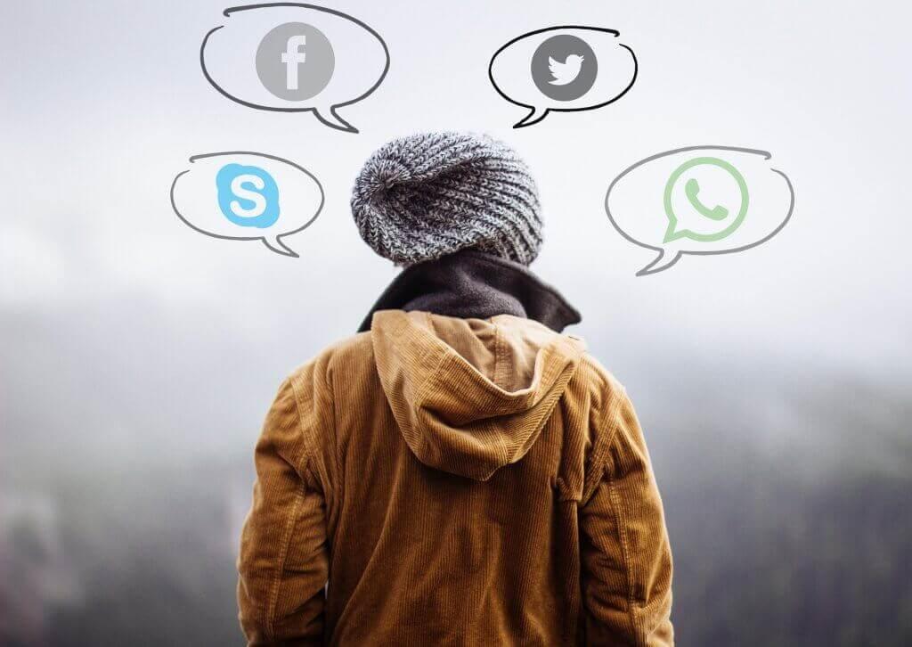 Dem Menschen stehen viele neue Technologien zur Verfügung. Sie bestimmen manchmal unsere Gedanken.