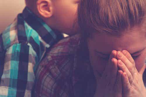 Erschöpfte Mutter: Das Burnout-Syndrom