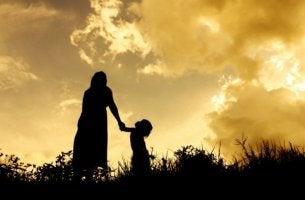Ein einziger Augenblick - Mutter und Kind