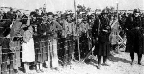 Spanische Flüchtlinge