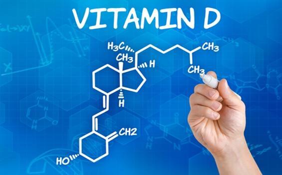 Strukturformel von Vitamin D