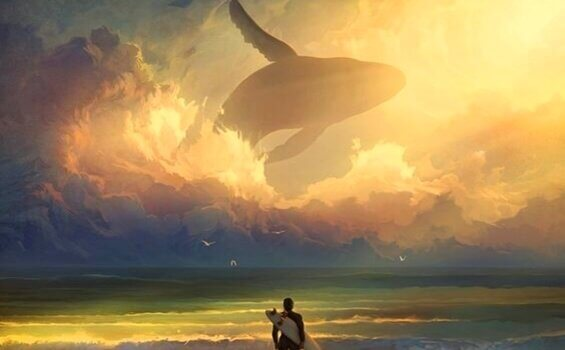 Wal im Himmel