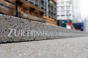 Berlin und Terrorismus - Gedenkstelle