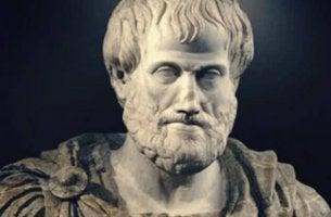 Aristoteles-Komplex - Büste von Aristoteles