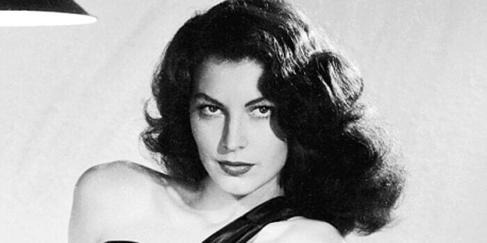 Ava Gardner als junge Frau