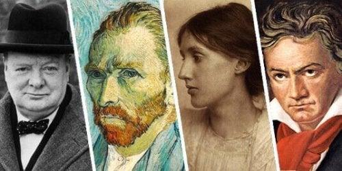 Berühmte Personen, die psychische Störungen hatten