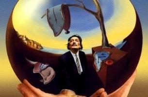 Zitate von Salvador Dalí - Dalí mit Uhren