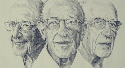 Drei Gesichter von Carl Rogers